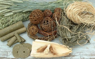 Home made toys from natural materials