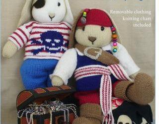Pirate Bunnies knitting pattern