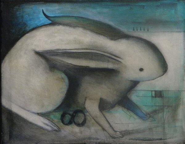 Awake Rabbit by Seth Fitts