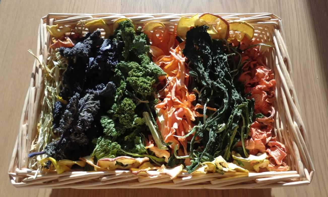 Home Dried Vegetables