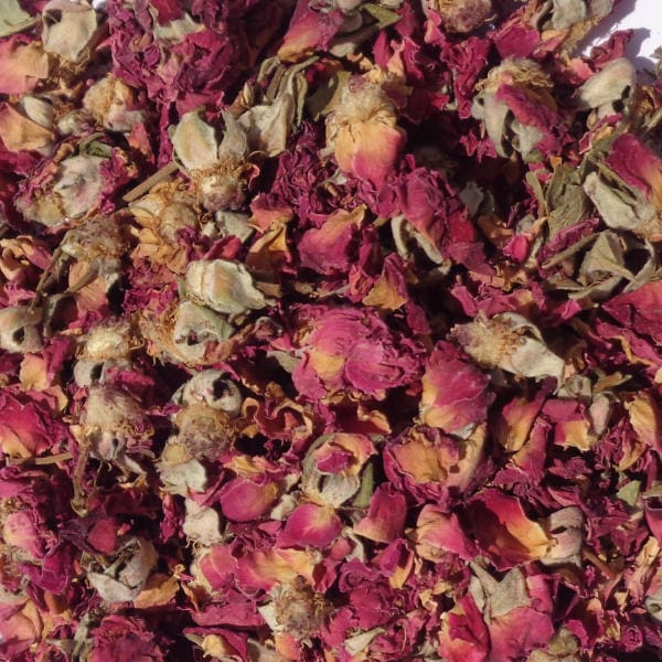 Dried Edible Flowers - Rose Flowers 100gm Bag
